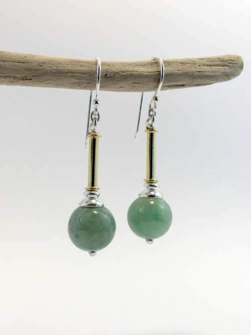 Burmese Jade earrings