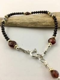 spinel garnet bracelet